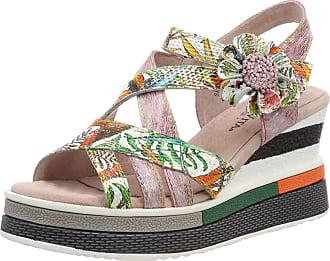 Laura Vita Womens Dacddyo 039 Open Toe Sandals, (Rose Rose), 6 UK