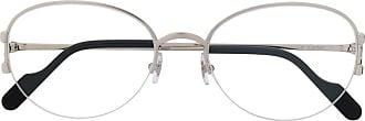 Cartier Óculos de sol oval - Prateado