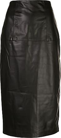 Kiki De Montparnasse Bustle pencil skirt - Black