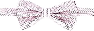 Canali Gravata borboleta trançada - Rosa
