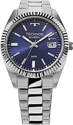 Technos Relógio Masculino Technos Analógico 2415CI/1A Prata