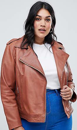 Plus Size Black Faux Leather Oversized Boyfriend Biker Jacket
