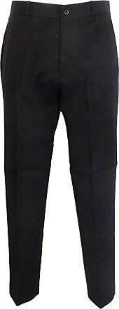 Relco Classic Retro mod sta Press Trousers Sizes 28 to 42 (30, Black)