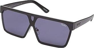 Quay Eyeware QUAYxBenefit Shade Queen (Black/Smoke) Fashion Sunglasses