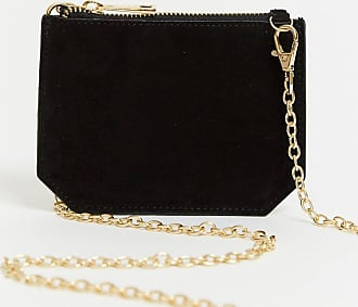 Urban Code small leather cross body purse bag in black