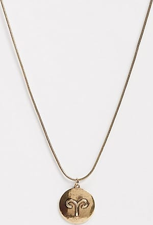 7X SVNX Aries horoscope necklace-Gold