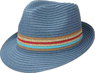 84a93e21b5dba LIPODO Uni Stripes Straw Trilby Hat Women/Men | Beach Sun Spring-Summer