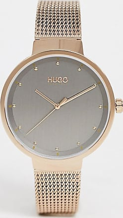 HUGO BOSS 1540004 Go mesh watch in gold 38mm