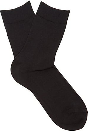 Falke Cotton-blend Ankle Socks - Womens - Black