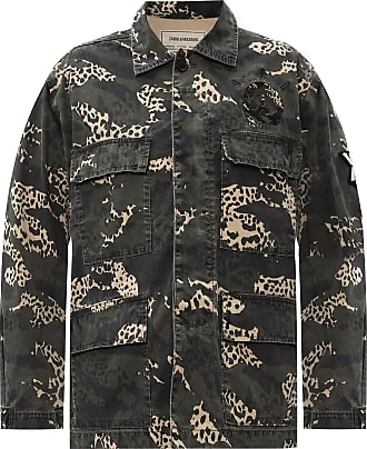 Zadig & Voltaire Camo-printed Field Jacket Womens Green
