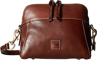 Dooney & Bourke Florentine Classic Cameron Crossbody (Chestnut/Self Trim) Cross Body Handbags