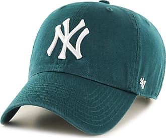 47 Brand 47 MLB New York Yankees CLEAN UP Cap - 100% Garment Washed Cotton Relaxed Fit Unisex Baseball Cap Premium Quality Design and Craftsmanship by Generati