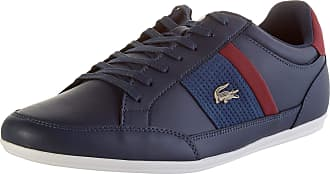 Lacoste Mens Chaymon 120 4 CMA Trainers, Blue (NVY/Dk Red 5a5), 10.5 UK