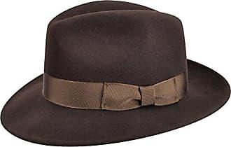 Country Gentleman Mens Outback Wool Drop Brim Fedora Hat Fedora