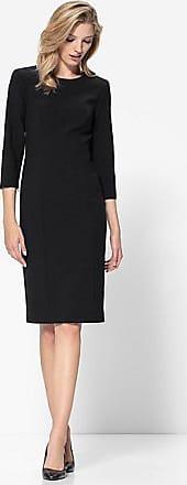 Madeleine Schlankes Etui-Kleid mit langen Ärmeln Damen schwarz