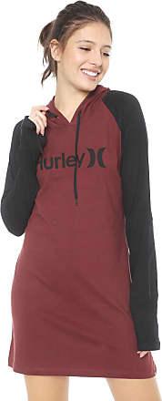 Hurley Vestido Hurley Curto One&Only Vinho/Preto