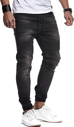 LEIF NELSON Mens T-Shirt Round Neck Collar LN-1220 Black XX-Large