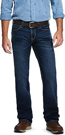 Ariat Mens M7 Rocker Stretch Cedar Stackable Straight Leg Jeans in Salton Cotton, Size 30 30, by Ariat