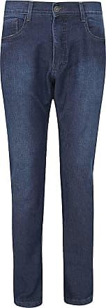 Fatal Surf Calça Jeans Fatal Slim Pespontos Azul