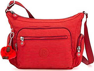 37cb98fe8 Kipling Gabbie S, Bolsos bandolera Mujer, Rojo (Active Red)