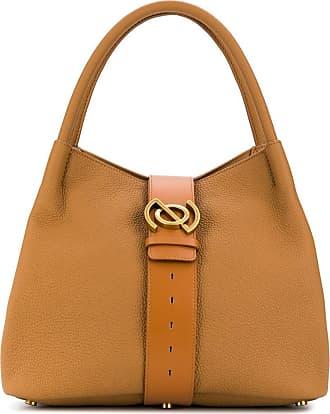 Zanellato Zoe belted tote bag - Brown
