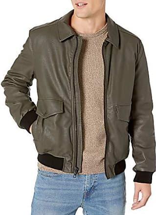 Marc New York by Andrew Marc Mens Burnett Melton Wool Pea Coat Jacket