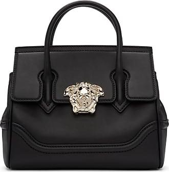 5a6f3ecff745 Versace Black and Gold Medium Empire Bag