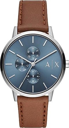 A|X Armani Exchange Relógio Quartz Cayde - Homem - Marrom - Único IT