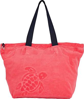 Vilebrequin Accessories - Big terry cloth Beach Bag Jacquard Solid - BEACH BAG - BARNEY - Pink - OSFA - Vilebrequin
