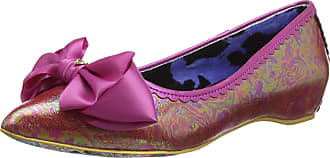 Irregular Choice Womens Mint Slice Closed Toe Ballet Flats, Pink (Pink Dark), 7.5 UK (41 EU)