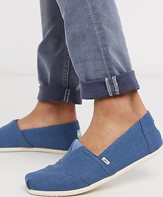 Toms canvas espadrille in blue