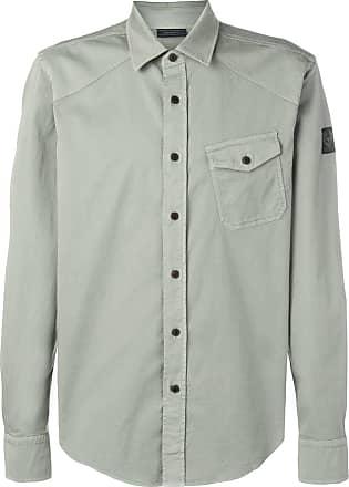 Belstaff Camisa com bolso - Verde