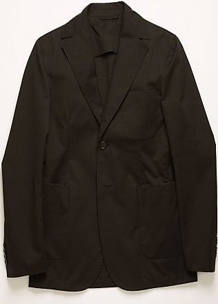 Acne Studios FN-MN-SUIT000072 Dark blue/black Pinstriped suit jacket