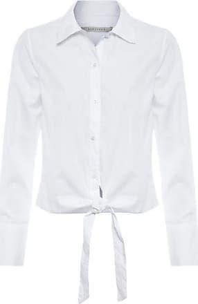 Bobstore Camisa Cropped Amarração Bobstore - Branca