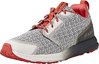 Ariat Ariat Womens Fuse Athletic Shoe, Salt and Pepper, 6 B US