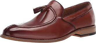 38582287fda Stacy Adams Mens Donovan Tassel Slip-On Loafer Oxford Cognac 9 M US