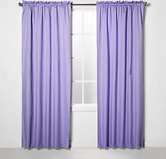 Eclipse Braxton Blackout Window Curtain Panel - Lilac - Size:42x84
