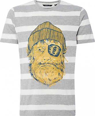 O'Neill Jack ONeill Tee T-Shirt für Herren   grau/weiß