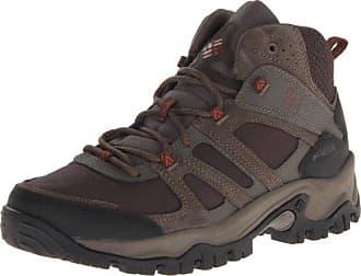 Columbia Mens Woodburn Mid Hiking Boot,Cordovan/Cedar,7 D US