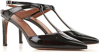 L'autre Chose Sandals Heeled Womens On Sale, Nero, Pelle di Vernice, 2019, 36 37 38 40