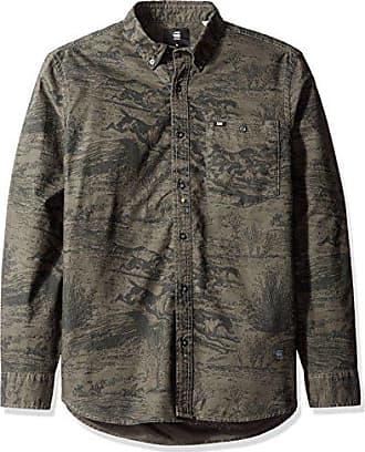 9a5a0338a0 G-Star Raw Mens Oxford Btd Pocket Long Sleeve Button Down Shirt