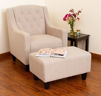 BEST SELLING HOME Simpson Club Chair with Ottoman - 225133