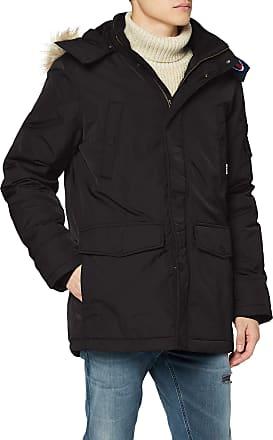 Tommy Jeans Mens TJM Tech Parka Jacket, (Tommy Black Bbu), XX-Large