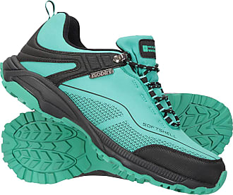 Mountain Warehouse Collie Waterproof Womens Shoes - Lightweight Ladies Shoes, Breathable Walking Shoes, Soft Hiking Shoes - Ideal for Walking & Hiking Carbon Womens Shoe