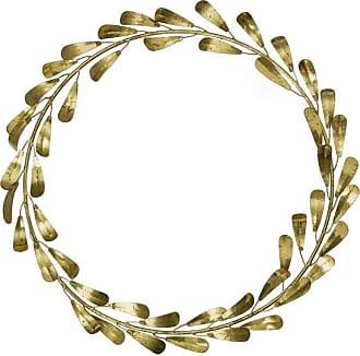 Bungalow Golden Mistletoe Wreath 40 Cm