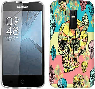 Mundaze Mundaze Diamond Skulls Phone Case Cover for CoolPad Rogue