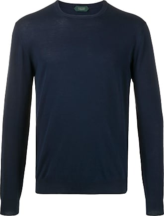 Zanone crew-neck jumper - Blue