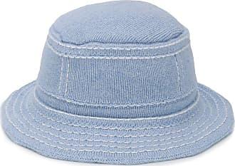 Barrie Chapéu com detalhe de pesponto - Azul