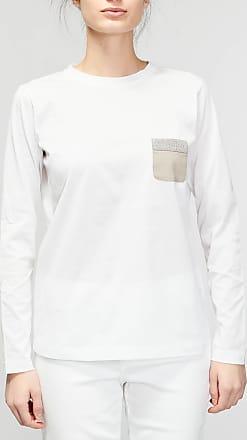 Rabaini FABIANA FILIPPI T-shirt tasca monile - Bianco