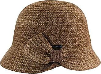 b40514c6 Betmar Womens Emelia Braide Cloche Hat, Caramel Multi, One Size